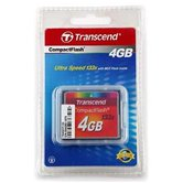 Карта памяти CompactFlash Card 4Gb Transcend 133x [TS4GCF133]
