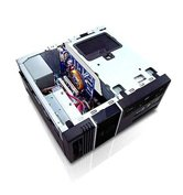 Корпус INWIN BK623BL U4AXDE mATX  Desktop/Tower 300W (Low noise, 20+4+4pin, SATA) USB+Audio+Heatpipe+IEE1394, Черный