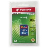 Карта памяти Secure Digital Card 16Gb Transcend  [TS16GSDHC6]  Class 6 Retail
