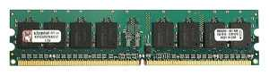 Модуль памяти DDR2 Kingston 2Gb 800Mhz PC6400 [KVR800D2N6/2Gb] Original  RET