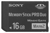 Карта памяти SONY Memory Stick 16GB PRO DUO MarkII High-speed ORIGINAL  [MS-HX16A//K ]