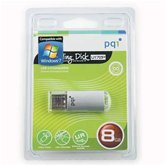Накопитель Flash USB drive PQI  U172 8Gb Silver RB