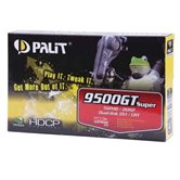 Видеокарта Palit PCI-E GeForce with CUDA 9500GT 512Mb DDR2 (128bit) VGA DVI  Retail