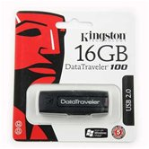 Накопитель Flash USB drive KINGSTON Data Traveler 16Gb RET [DT100/16Gb]