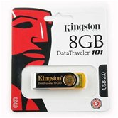 Накопитель Flash USB drive KINGSTON Data Traveler 8Gb RET yellow (желтый)  [DT101Y/8Gb]