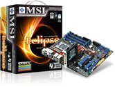 Материнская плата Socket-1366 MSI Eclipse SLI (Intel X58/ICH10R) ATX  Retail
