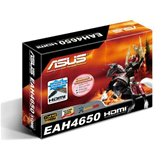 Видеокарта ASUS PCI-E EAH4650/DI/512MD2/A(LP) Radeon HD 4650 512MB DDR2 (128bit) HDMI DVI Retail