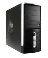 Корпус INWIN EAR001BS (Midi Tower, ATX, 450W RB-S450HQ70, USB+Audio, черно-серебристый) <6101089>