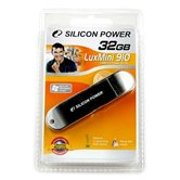 Накопитель Flash USB Drive Silicon Power LuxMini 910 32Gb silver ( Retail)