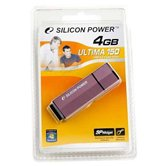 Накопитель Flash USB Drive Silicon Power  Ultima 150 4Gb Purple  80x алюминий (retail)