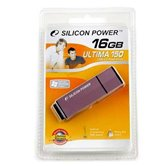 Накопитель Flash USB Drive Silicon Power  Ultima 150 16Gb Purple  80x алюминий (retail)