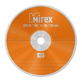 Диск DVD+R 4,7Gb Mirex 16x  Cake box, 50шт  [UL130013A1B ]