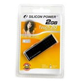 Накопитель Flash USB Drive Silicon Power Touch 210 2Gb Black (Retail)