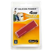 Накопитель Flash USB Drive Silicon Power Touch 212  4Gb  Red  (Retail)