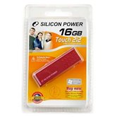 Накопитель Flash USB Drive Silicon Power Touch 212  16Gb  Red  (Retail)
