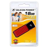 Накопитель Flash USB Drive Silicon Power Touch 610 16Gb Red (Retail)