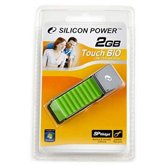 Накопитель Flash USB Drive Silicon Power Touch 610 2Gb Green (Retail)