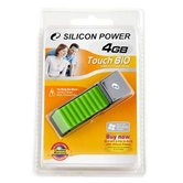 Накопитель Flash USB Drive Silicon Power Touch 610 4Gb Green (Retail)