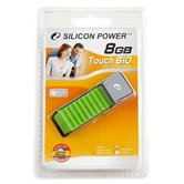 Накопитель Flash USB Drive Silicon Power Touch 610 8Gb Green (Retail)