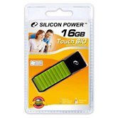 Накопитель Flash USB Drive Silicon Power Touch 610 16Gb Green (Retail)